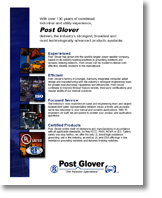 Post Glover Company Overview